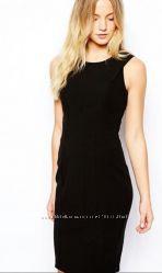 Шикарное чёрное платье футляр New Look