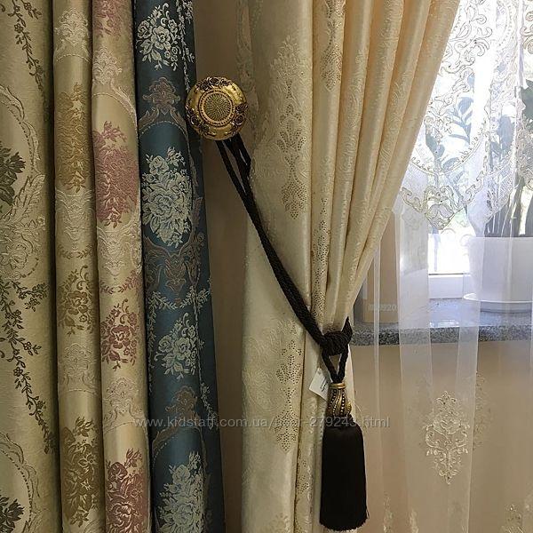 розета в стіну для підвязування штор