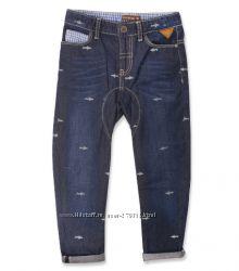 Тонкие джинсы Crockid