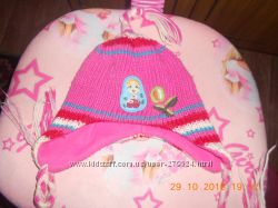 Осенняя шапка на девочку