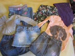 Детские вещи, платье, кофты, юбки, джинсы.