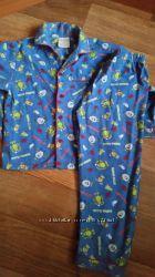Тёплая пижама на 5-6 лет
