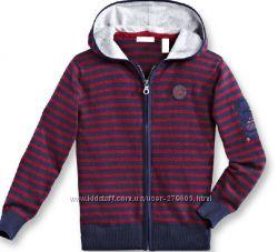 Oba&239bi et Oka&239di. Кофта бордово-синяя в полосочку с капюшоном. Распродажа