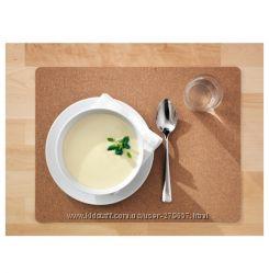 Пробковая салфетка для посуды