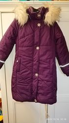 Пальто Lenne Juliet 140 см Фиолетовое