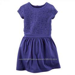 синее платье  Carters