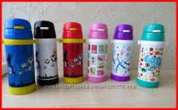 Качественные Детские термосы для ваших Малышей с Трубочкой для питья.