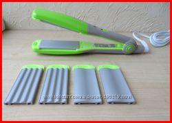 Ультрамодные Гофрированные Выпрямители для волос С керамическими насадками.