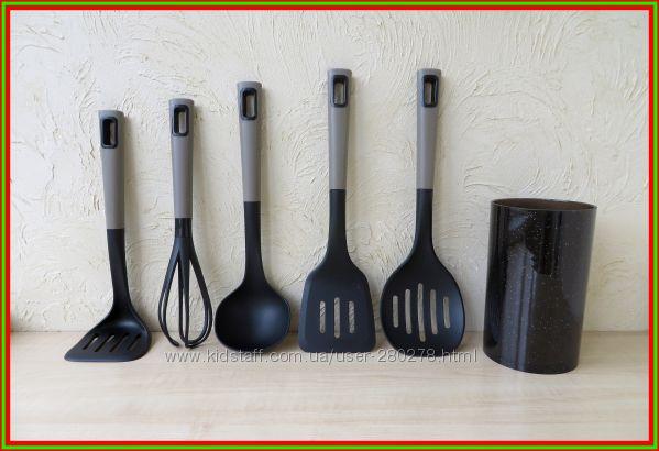 Набор Кухонных Принадлежностей  для посуды с антипригарным покрытием
