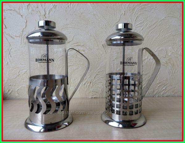 Френч-пресс  Кофейник-Заварник для приготовления кофе и чая на 350 мл.