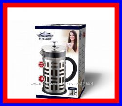 Френч-пресс Кофейник-Заварник для приготовления кофе и чая на 600мл. 1000мл