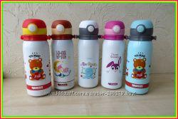 Детские термосы с Трубочкой для питья. Стильные и Красочные.