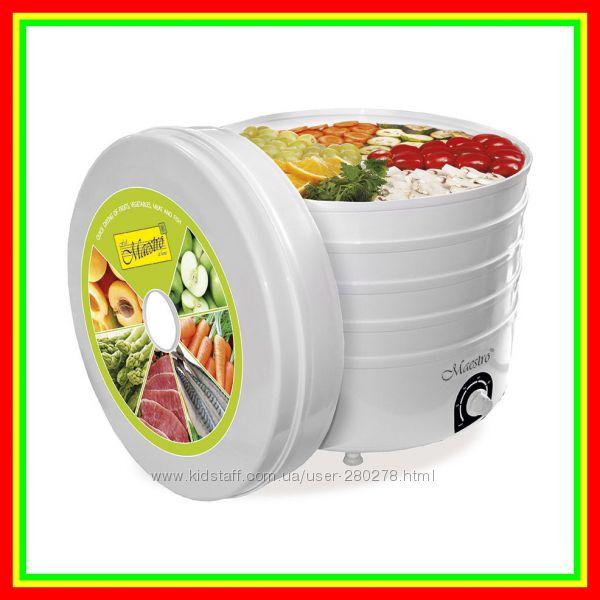 Электрическая сушилка для Фруктов, Грибов и Овощей