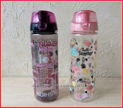 Ультра-Модные удобные бутылочки для воды, напитков, соков и прочего.