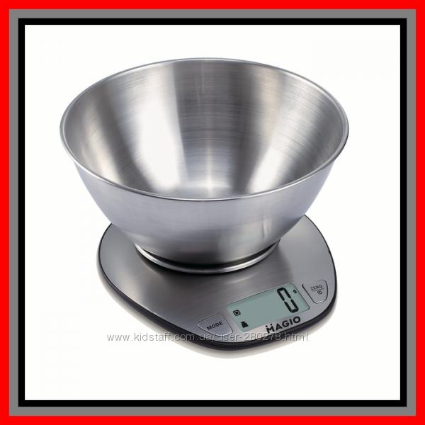 Кухонные Весы из Нержавеющей стали за недорогую цену до 5 кг.