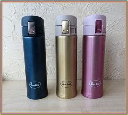Стильные Удобные Термосы-термостаканы с поильником для питья
