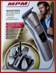 Машинка для стрижки волос. Отличный Мега набор различных насадок. Польша.