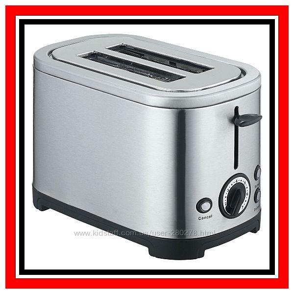 Тостер электрический из нержавеющей стали. Супер прибор за недорогую цену.