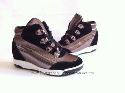 ботинки демисезонные сникерсы 36-41
