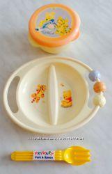 Детская Яркая Посуда Винни Пух DISNEY детские ложки и вилки