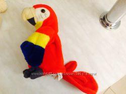 Подарок Новый Год Говорящий Попугай Повторюшка Рюкзачок и Карта Даши, Доры