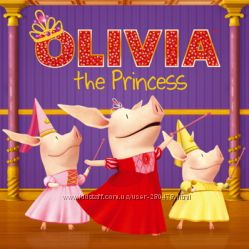 Книжный набор ОЛИВИЯ Свинка OLIVIA  Книги на английском Зонт Бен Холли