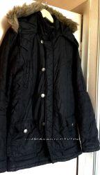 Американская Оригинальная Бренд GUESS Демисезонная Черная Куртка р L  XL