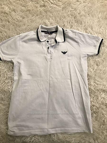 Белая футболка Армани 152 р
