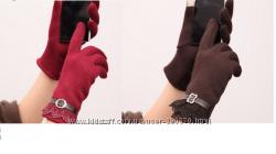 Елегантные перчатки для сенсорных екранов