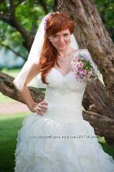 Счастливое свадебное платье для счастливой невесты