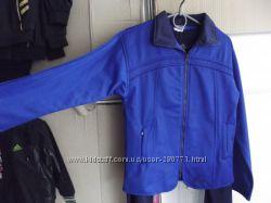 Спортивный эластиковый утеплённый костюм на девочку ADIDAS