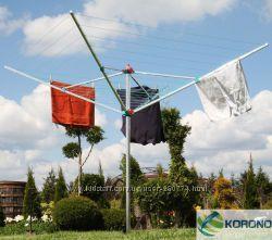 Сушка для одежды садовая, Германия