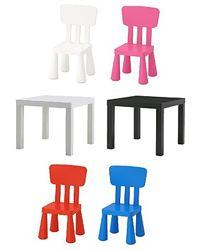 Стульчик детский Ikea mammut, мамут икеа, все цвета