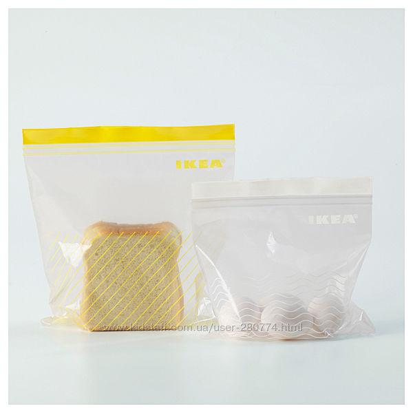 Пакеты для хранения и заморозки продуктов Ikea Istad