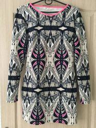 Супер стильное платье из неопрена, фирменное