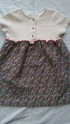 Плотное платье Zara на 98 см