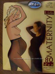 Распродажа очень удобные колготочки 80ден для будущих мам, Польша