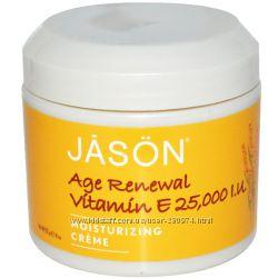 Универсальный увлажняющий крем Jason natural с витамином Е.