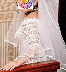 нежное платье невесте, идеально  для венчания