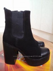 Кожаные ботинки  Valure, 38 р-р
