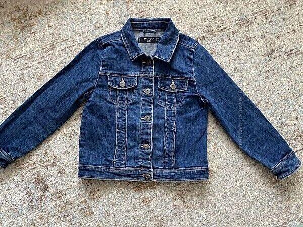Джинсовая куртка Mango р.5-6 лет