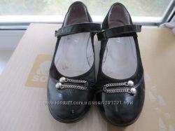 Кожаные туфли Каприз