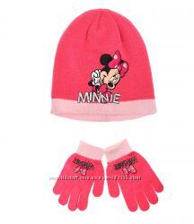 Шапка и перчатки с Минни Маус