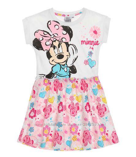 Красивые платья с Минни Маус Германия