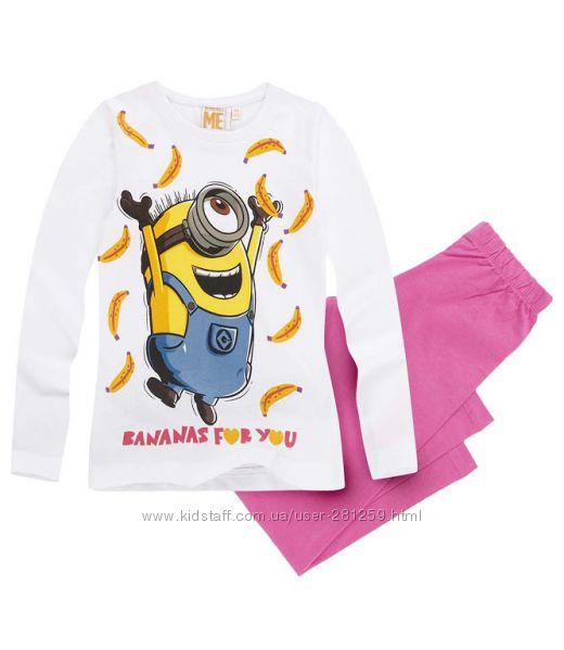 Пижамы Миньоны Minions или Гадкий Я для девочки
