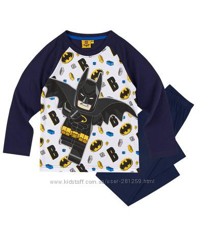 Пижама Лего Бэтмен LEGO Batman