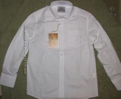 Рубашка белая BOGI в наличии р. 116-122, 122-128, 128-134, 134-140