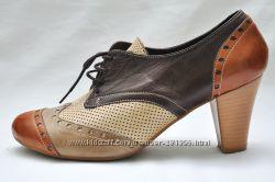 Стильные кожаные ботиночки, пр. Турция. р. 38