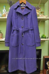 Элегантное кашемировое пальто. 44р М. Италия