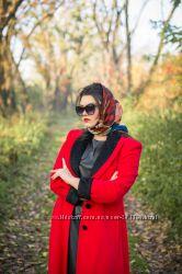 Роскошное  пальто в стиле леди Ди. р. 38-40